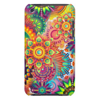 Funky Retro Pattern Abstract Bohemian iPod Touch Case-Mate Case
