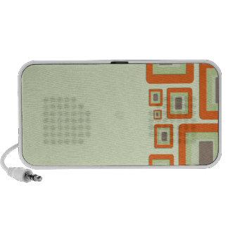 Funky Retro Squares Mini Speaker