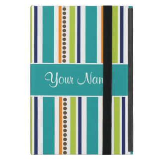 Funky Retro Stripes and Spots iPad Mini Cases