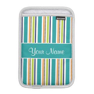Funky Retro Stripes and Spots iPad Mini Sleeve