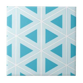 funky retro triangles tile