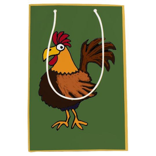 Funky Rooster Gift Bag