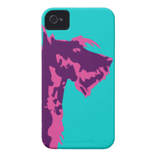 Funky Scottish Terrier Pop Art iPhone 4 Case-Mate Case