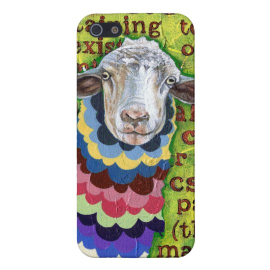 Funky Sheep iPhone 5 Cases