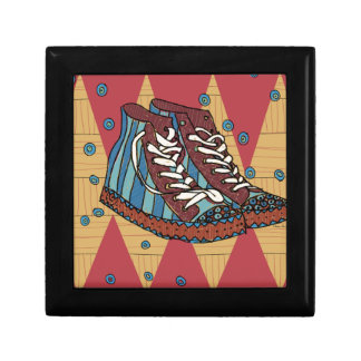 funky shoes gift box
