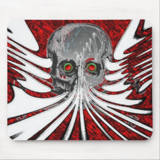 Funky Skull Mouse Pad