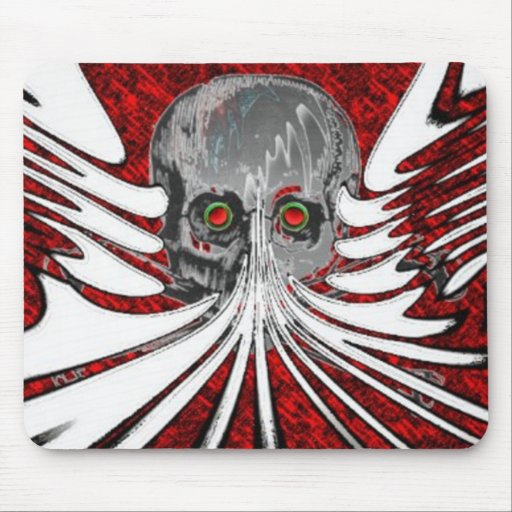 Funky Skull Mouse Pads