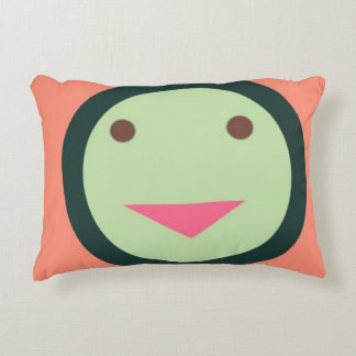 funky smiley face pillow