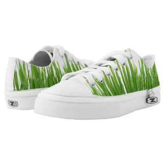 Funky sneakers grass