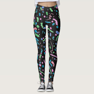 Funky Splatter Leggings