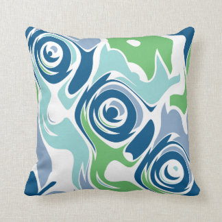 Funky Spring Blues Pillows