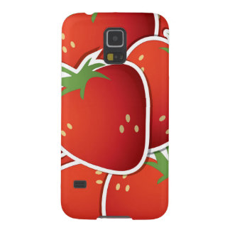 Funky strawberries galaxy s5 cases