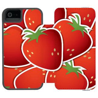 Funky strawberries incipio watson™ iPhone 5 wallet case