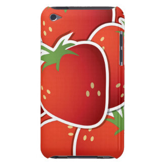 Funky strawberries iPod touch covers