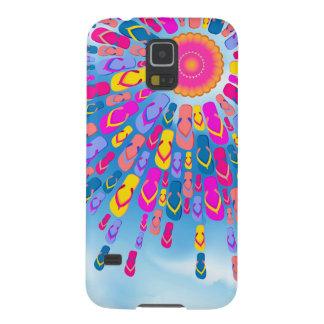 Funky Summer Sun Flip-Flops Rays Samsung S5 Case