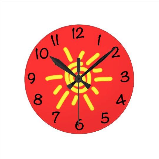 Funky Sun Clock