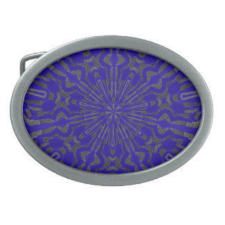 Funky Sun Pattern Belt Buckles