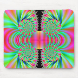 Funky Swirls Mouse Pad
