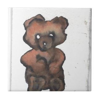 Funky Teddy Bear - Cricketdiane Art Tiles