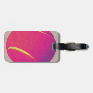 Funky Tennis Ball 2 Bag Tag