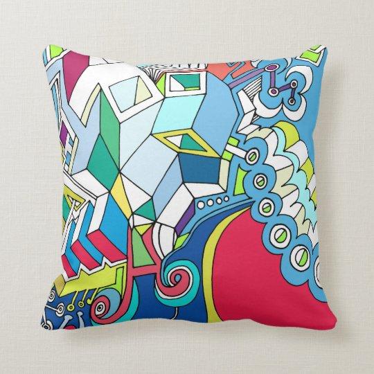 Funky Throw Pillow