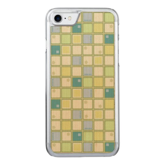 Funky Tiles Carved iPhone 7 Case