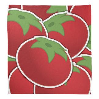 Funky tomato bandana