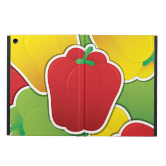 Funky traffic light peppers iPad air covers