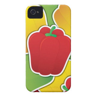 Funky traffic light peppers iPhone 4 cover