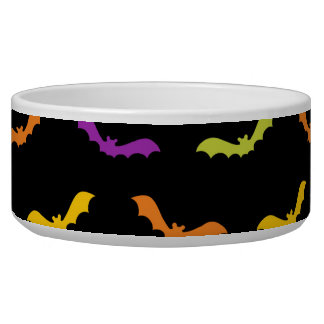 Funky Trendy Retro Abstract Halloween Pattern
