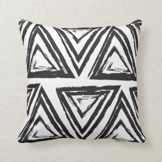 Funky Triangle Throw Pillow