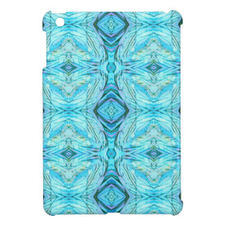 Funky Turquoise Modern Pattern Case For The iPad Mini