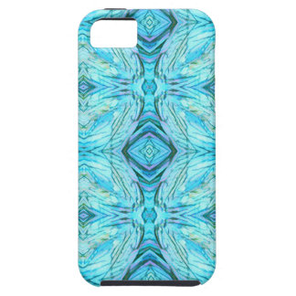 Funky Turquoise Modern Pattern iPhone 5 Case