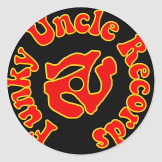 Funky Uncle Records logo sticker