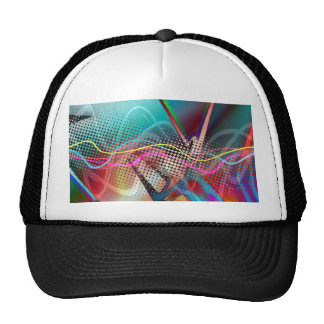 Funky Urban Graffiti Grunge Textured Trucker Hat
