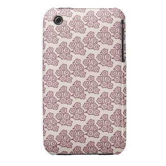 funky vintage japanese cherry blossom spring gift iPhone 3 Case-Mate cases