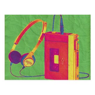 Funky Walkman 2 Postcard