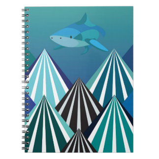 Funky Water Mountains.jpg Notebooks
