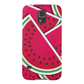 Funky watermelon wedges galaxy s5 case