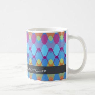Funky Waves   02 * Modern Designer Custom Gift Mug