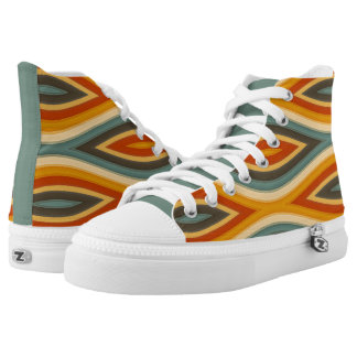 Funky Waves Designer Colors High Top Kicks
