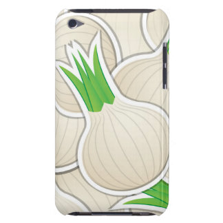 Funky white onions barely there iPod cover