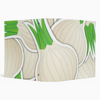 Funky white onions binder