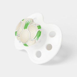 Funky white onions pacifier
