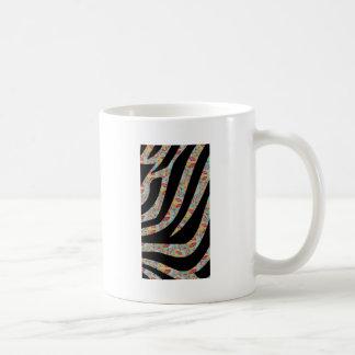 Funky Zebra Classic White Coffee Mug
