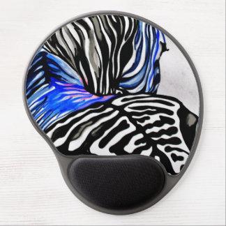 Funky Zebra (Kimberly Turnbull Art) Gel Mouse Pad
