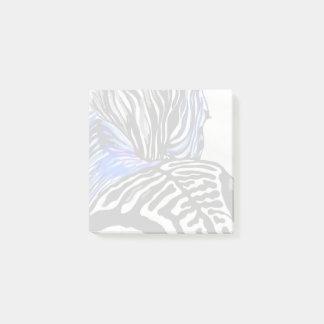 Funky Zebra (Kimberly Turnbull Art) Post-it Notes