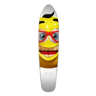 Funn 3d  emoticon  Skate Board