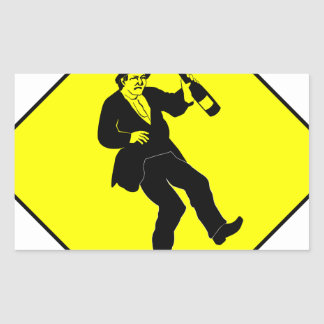 Funn Drunk Man Sign