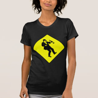 Funn Drunk Man Sign T-Shirt